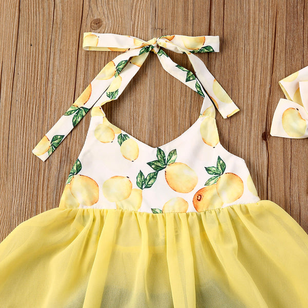 Lemon Halter Set