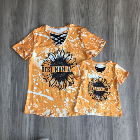 Mommy & Me Sunflower Top
