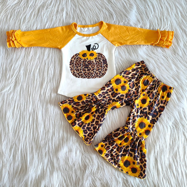 Sunflower Pumpkin Set