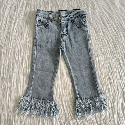 Fringed Jeans