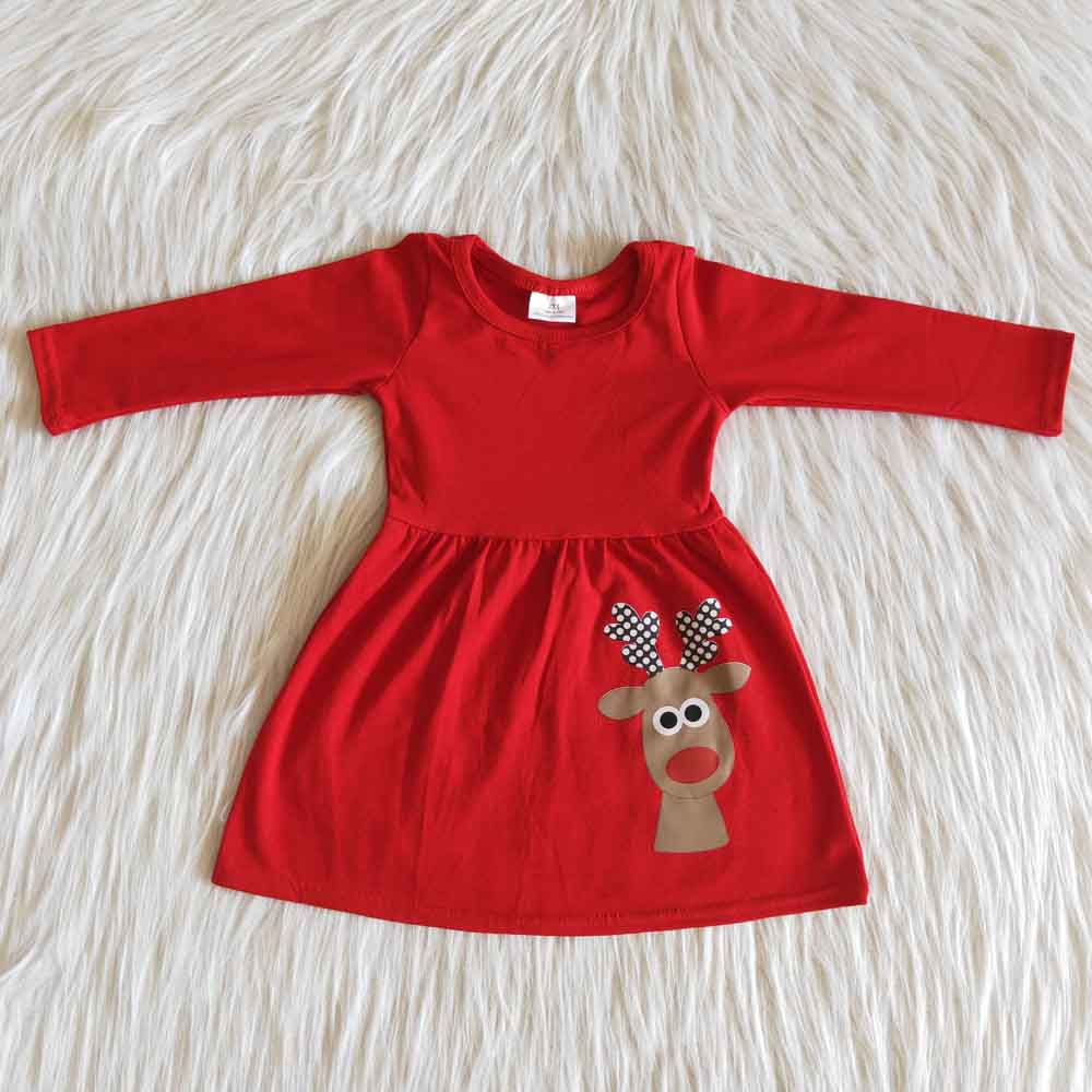 Red Nose Twirl Dress
