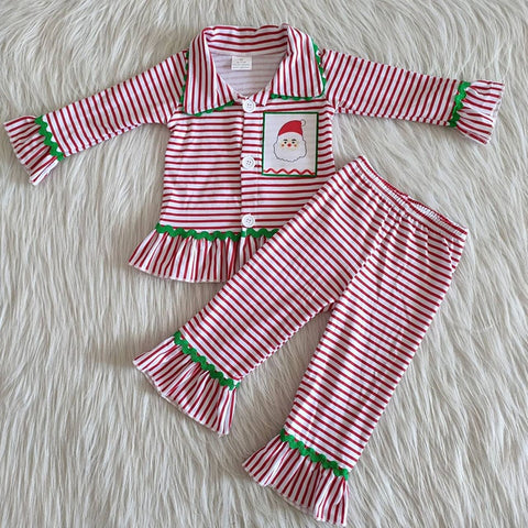 Santa Striped PJ's