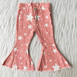 Pink Star Bell Jeans
