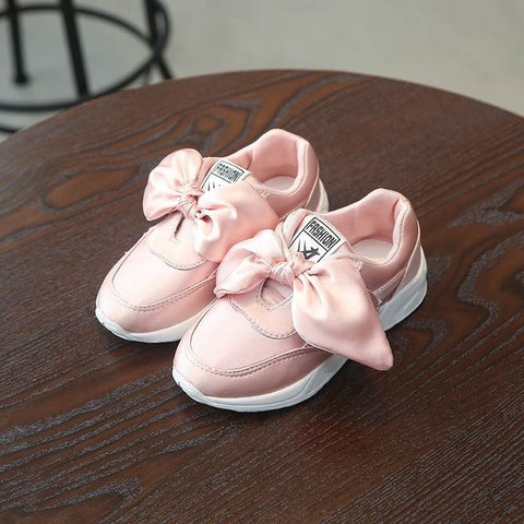Bowtie Sweet Candy Color Sneakers