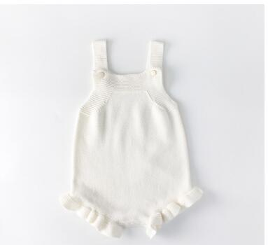 B&B Knitted Romper Set