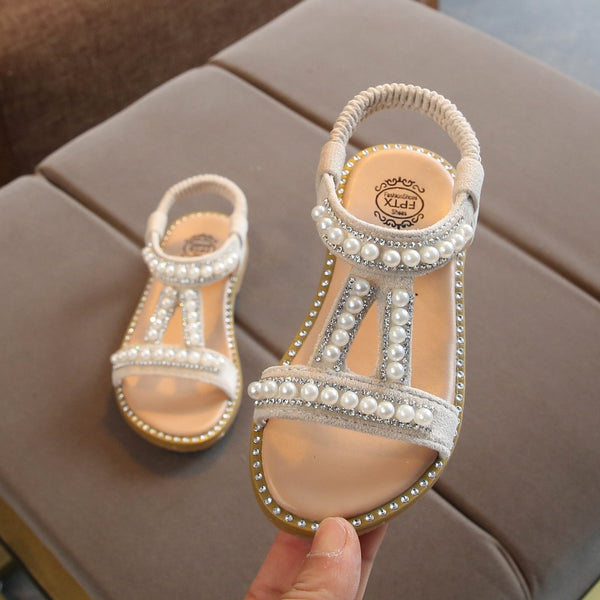 Princess Pearl Sandals