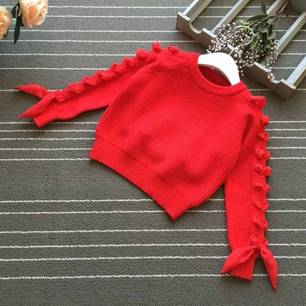 Bow Sleeve Sweater