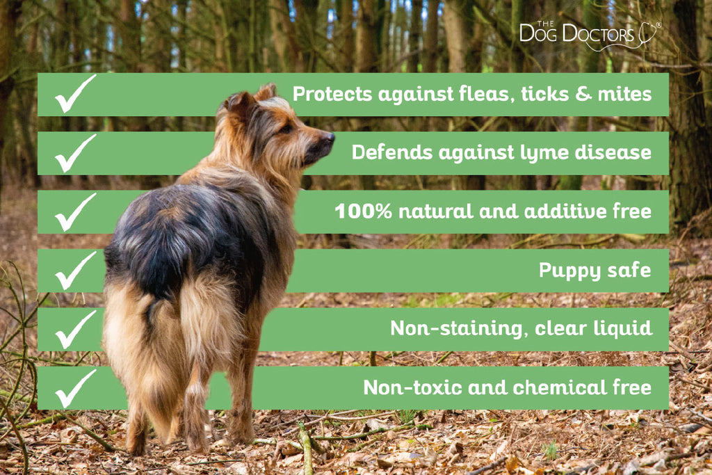 Natural Flea, Ticks & Mites Repellant Treatment Spray