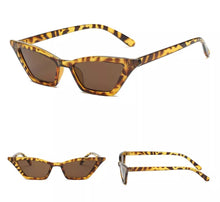 Load image into Gallery viewer, Retro Cat Eye Sunglasses Leopard