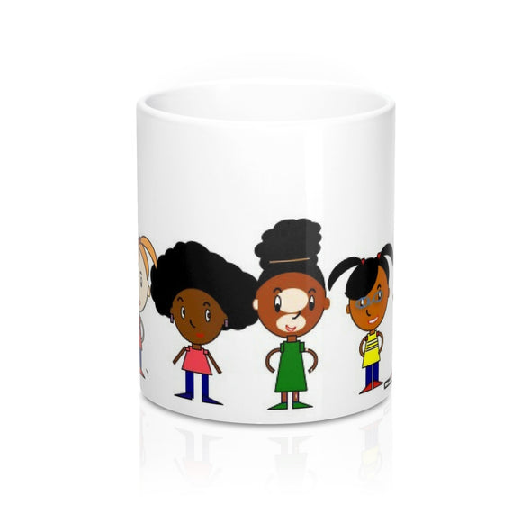 Black Girl Magic in Every Shade Mugs