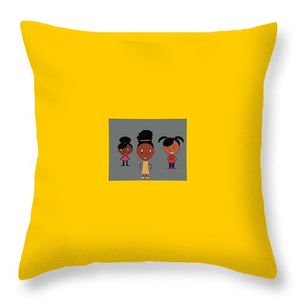 Band Of Sisters - Throw Pillow