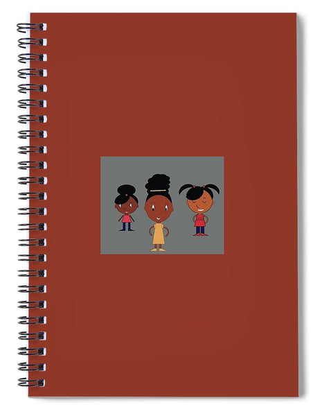 Band Of Sisters - Spiral Notebook