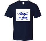 Always On Time Synchronicity Breathembb T Shirt