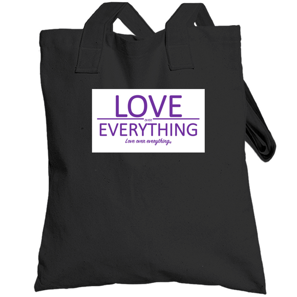 Loe Purple Tee Totebag