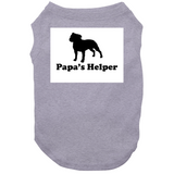 Papas Helper Big Text Whole Dog