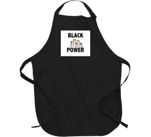 Power To The People Blk Apron