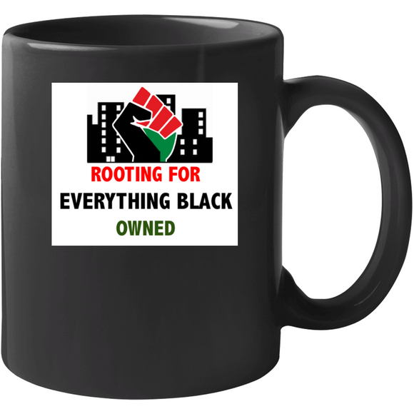 Power And Pride Ownership Black Drinking Mug