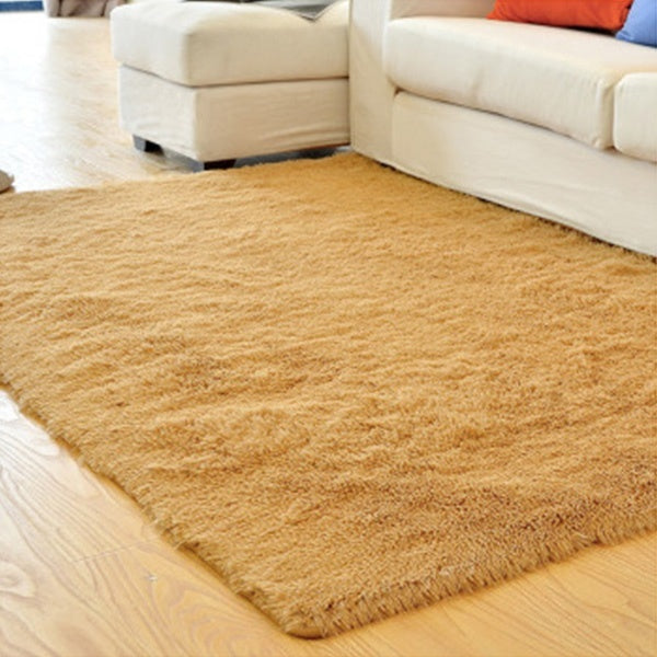 Fashion Rugs for Home Living Rooms Bedroom Fashion Anti Skid Carpet Warm Plush Yoga Mats Home Supplies Floor Mat Soft Comfortabl