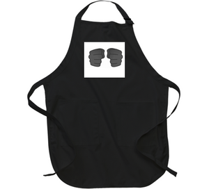 Ready To Rumble Double Blk Apron