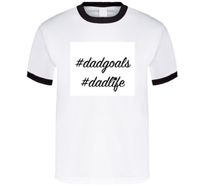 Hashtag Dadgoals Breathe Mbbdad T Shirt