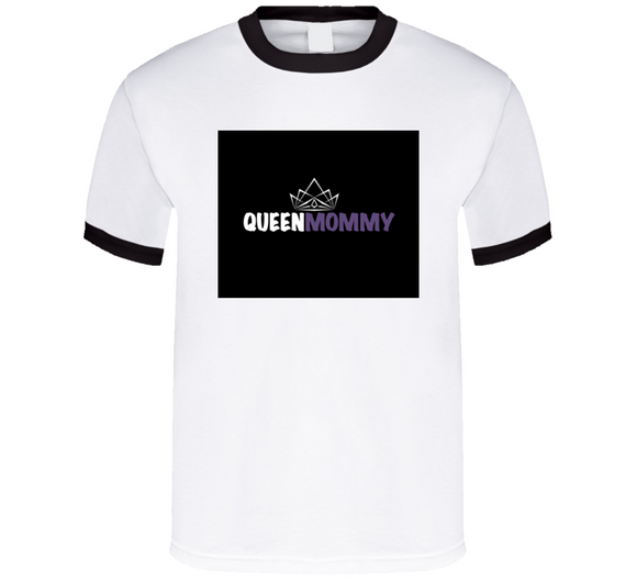 Queen Mommy Mbbmom Tee (purple)