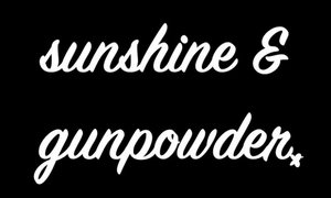 Sunshine and Gunpowder Inspirational Short-Sleeve Unisex T-Shirt