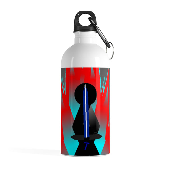 Tai Red Flame Aura Stainless Steel Water Bottle