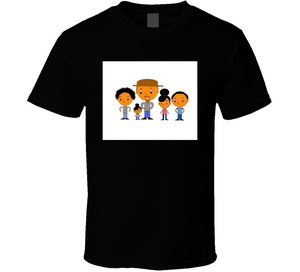 Father And 4 Kids Breathe Mbbdad T Shirt