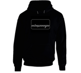 Silver Entrepronegro Hoodie