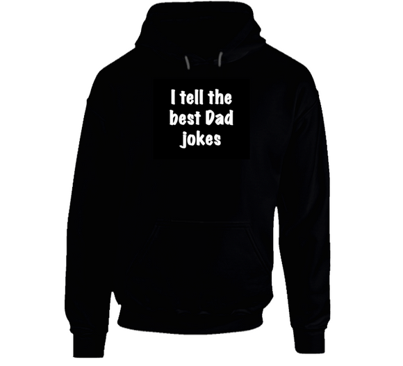 Best Dad Jokes Mbbdad (black) Hoodie