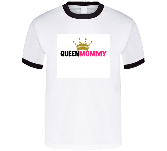 Queen Mommy (pink) Mbbmom Crown T Shirt