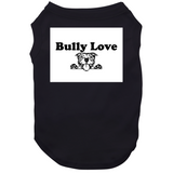 W Bully Love Head Dog