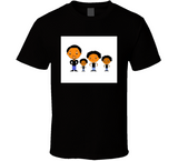 Father And 3 Sons Breathe Mbbdad T Shirt