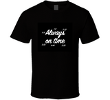Always On Time Synchronicity Breathembb Tee T Shirt