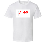 I Am The Music W&red T Shirt