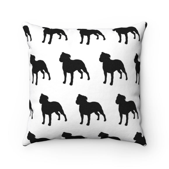 Moma Bully Party Accent Square Pillow