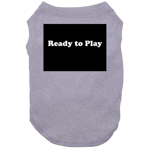 Ready To Play Plain Tee