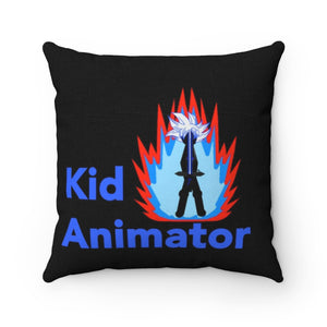 Ultra Tai Aura Kid Animator Accent Square Pillow