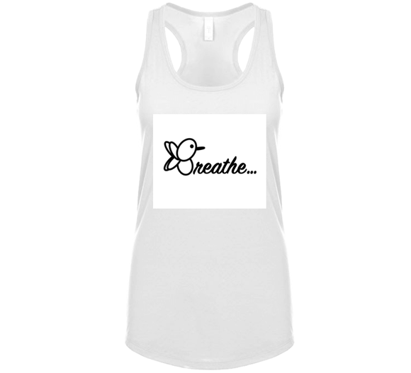 White Breathe Breathembb Tank T Shirt