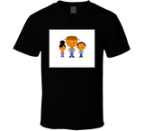 Father And 2 Kids Breathe Mbbdad T Shirt