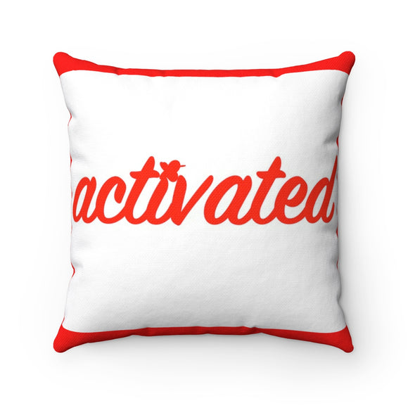 Activated Breathe MBB Accent Square Pillow