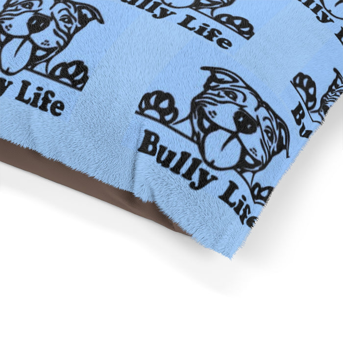 Bully Life Party Moma Pet Bed (Blue)