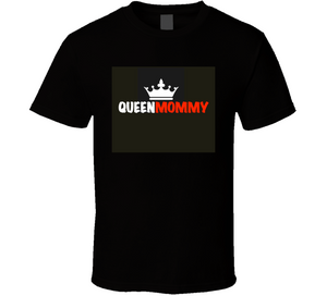 Queen Mommy (red) Mbbmom T Shirt
