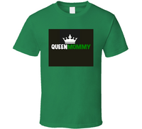 Queen Mommy (green) Mbbmom T Shirt