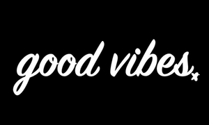 Good Vibes Inspirational Short-Sleeve Unisex T-Shirt