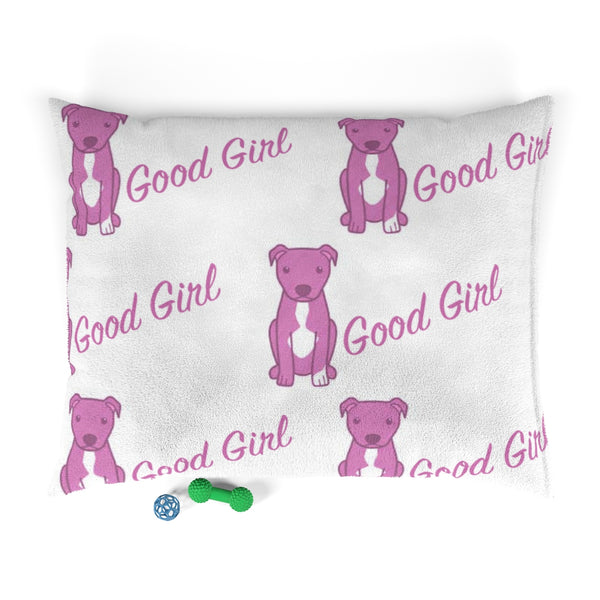 Moma's Good Girl Party Print Pet Bed (Pink)