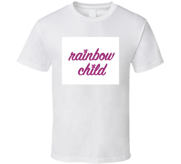 Rainbow Child Breathembb T Shirt
