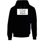 About My Family Dadgoals Mbbdad Hoodie