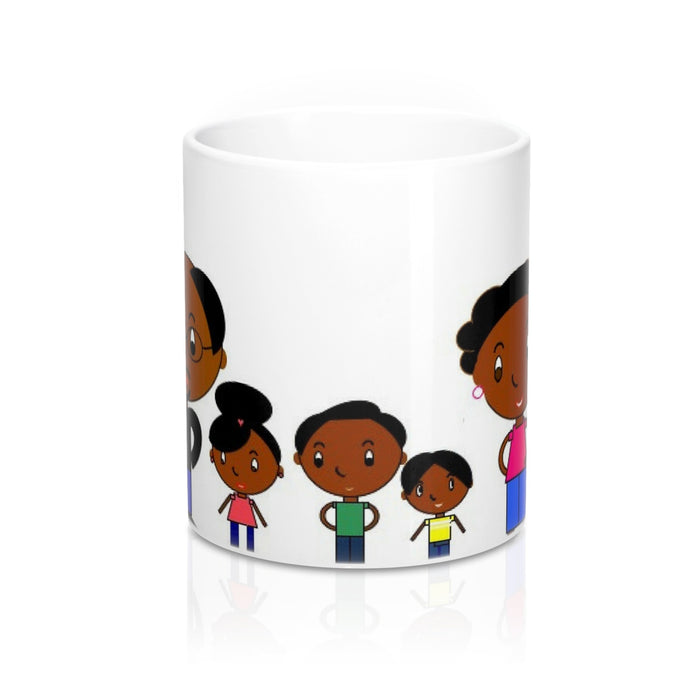 Black Family Magic Mug