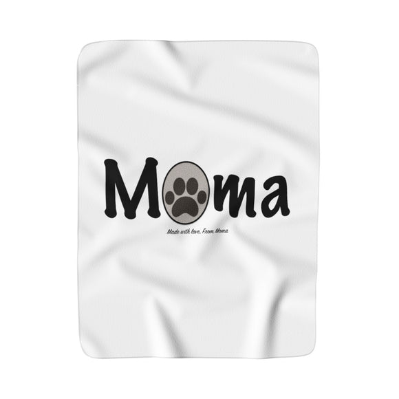 Made With Love, From Moma Sherpa Fleece Blanket